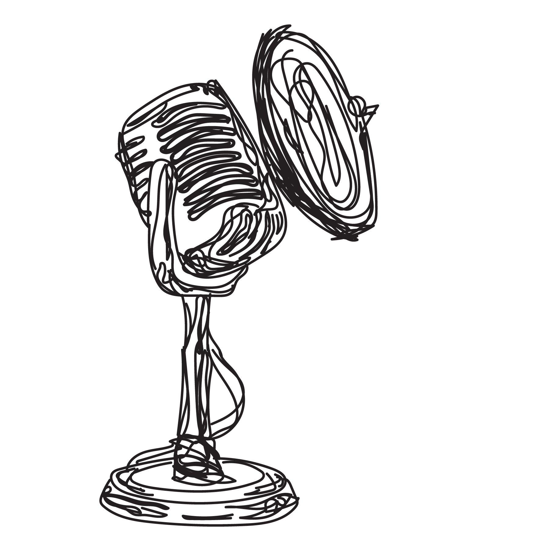 sketch studio microphone