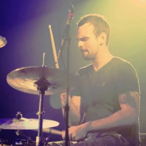 bailey kercheval playing drums