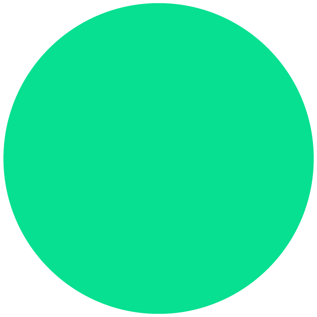 big green dot