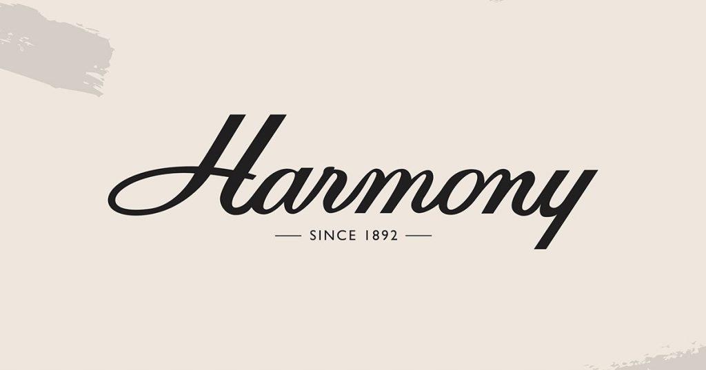 harmony since 1892 logo