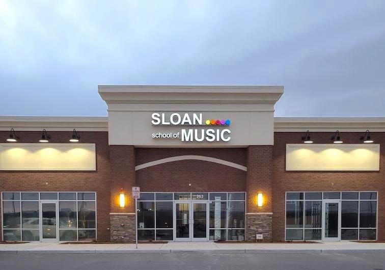 sloan school of music storefront