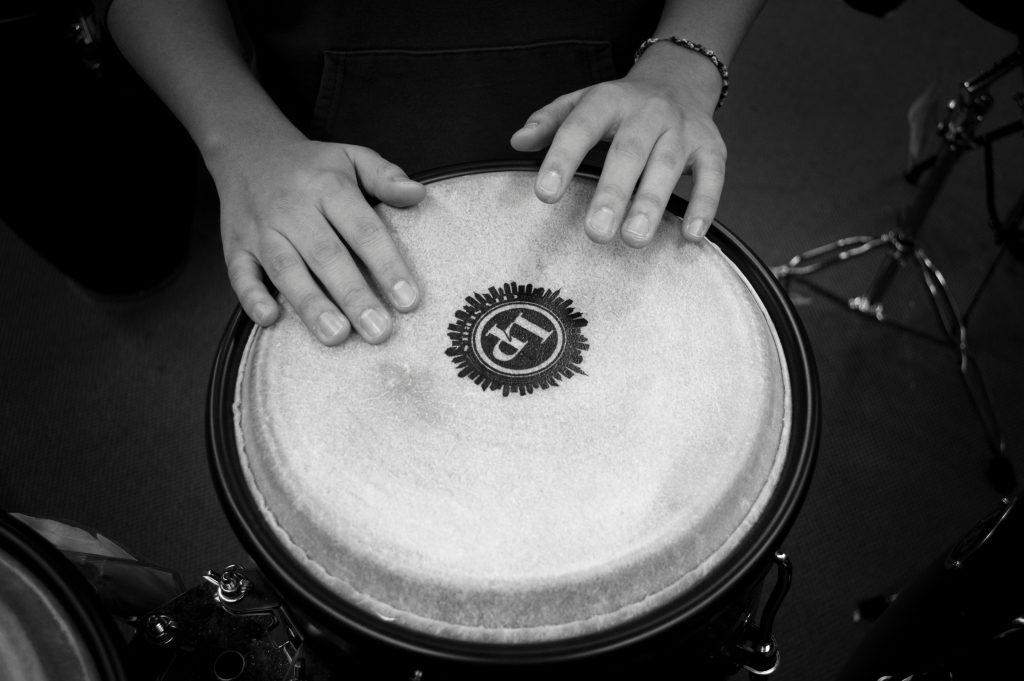 relaxing music drum