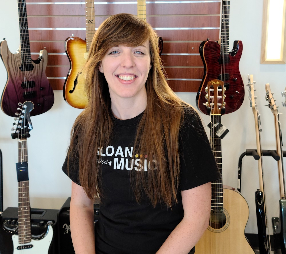Sloan School of Music Instructor Courtney Heimberger