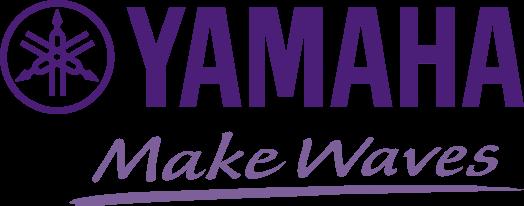 purple Yamaha logo