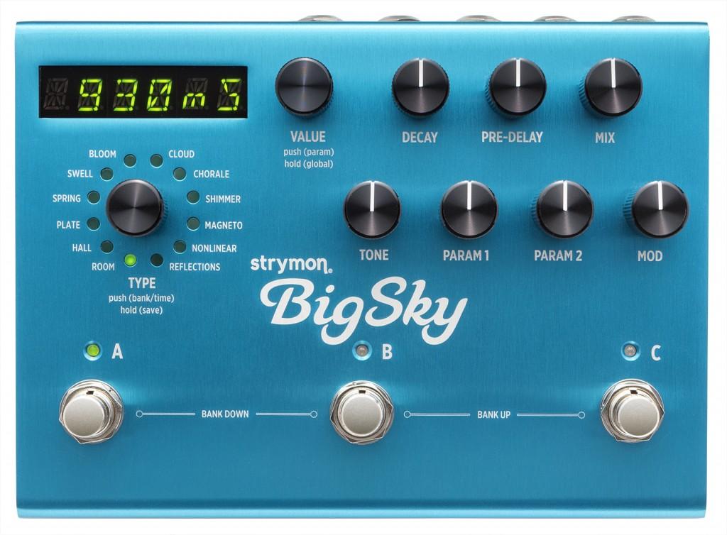 strymon bigsky pedal