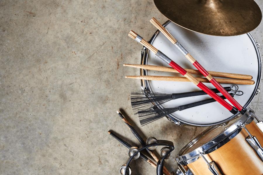renting drums